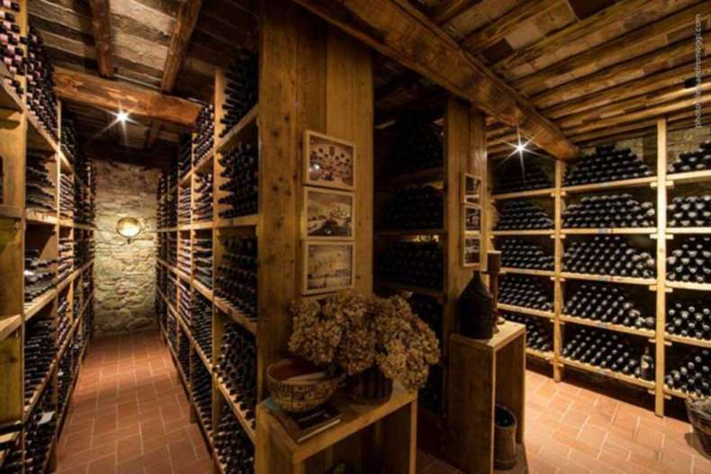 Colle Bereto: a wine lounge in the center of the chianti region